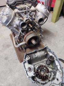 1978-1979 Honda CX500 Engine
