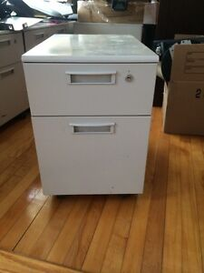 2 drawer rolling filing cabinet