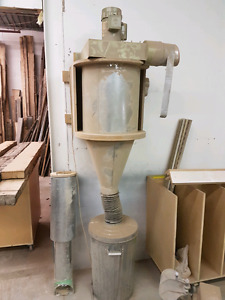 Shop cyclone dust collector