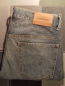 J. LINDEBERG Jay Shore Jeans 33 W/ 34 L (Brand New ) Best Deal!!