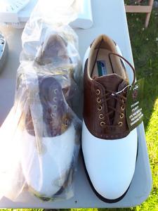 Brand New Etonic Dri-Lite Golf Shoes Men's size 8 1/2 Je parle f