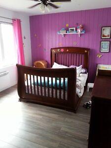 sets de chambre pour enfant basinnette convertisable en lit