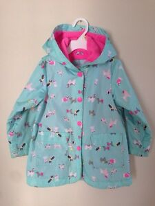 Rain coat for a girl, size 4Y
