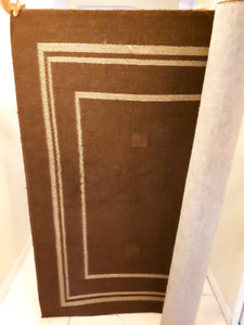 Area rug 6x8 brown and beige