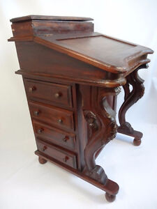 Bureau Antique - Antique Davenport Desk - Moving Sale