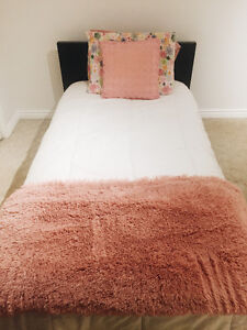 Ikea Twin Bed, Mattress Included for Sale