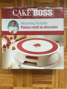 Cake Boss Decorating Table