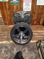 BMW rims and rubber
