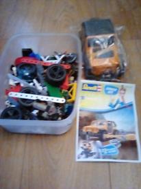 LEGO SPARE PIECES AND MECCANO SPARES