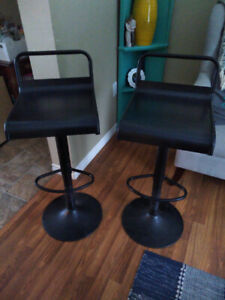 2 metal bar stools. Great condition- $90 for both.