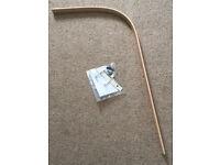 Stokke drape rod with fittings