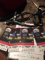 Grey Cup Tickets Covered Side 4 tickets