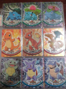 Pokemon full set 90/90 - topps series 1. Great price