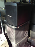 bose L1  B1 BASS BINS WITH COVERS [4]