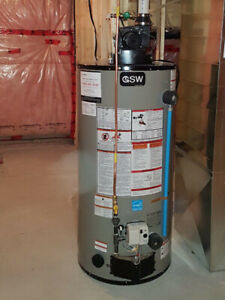 Gas water heaters starts at $1000 installed