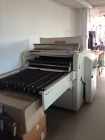 CLEARANCE: Industrial Garment Production Machinery