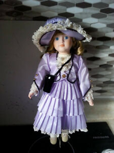 Beautiful Porcelain Doll with Box