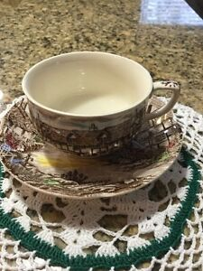 Johnson Bros English Cup and saucer sets