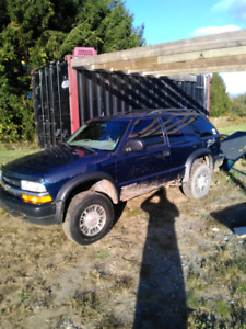 2000 chev zr2 Blazer up for trades or part out