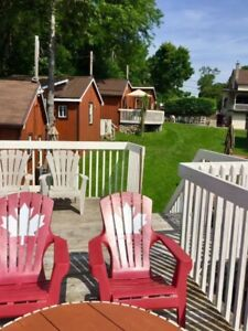 Cottage rental at $80 per night in the Fall