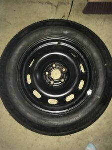 4 winter tires with rims, used one season on Nissan Sentra SL