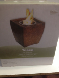 SOLD  --  Tosca Gel Firebowl