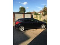 FORD FOCUS 1.0 ECO BOOST ZETEC 2013 PANTHER BLACK