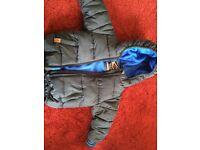 NEXT navy blue boys winter jacket NWT