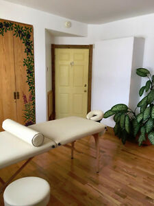 Shared Office Space for RMT, Reiki Practitioner, Esthetician