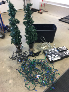 Christmas lights get ready now