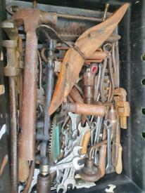 Box of tools.