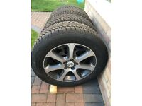 Winter Tyres with Alloys for Honda CR-V 2008