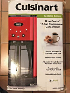CUISINART BREW CENTRAL 12-CUP COFFEE MAKER DCC-1200MR