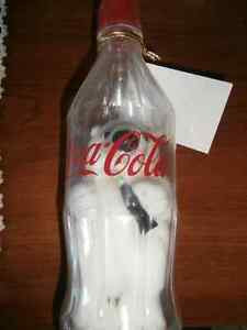 COCA COLA POLAR BEAR IN PLASTIC BOTTLE