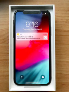 IPHONE X 64GB BLACK