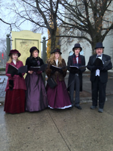 Victorian Caroller Wanted!