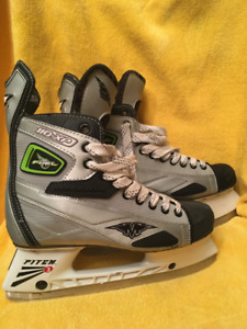 Ice-Hockey Skates (MISSION), FUEL110XP silver, size 8.5EE