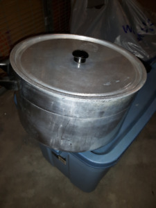 EUC Stainless Steel Pot with Lid