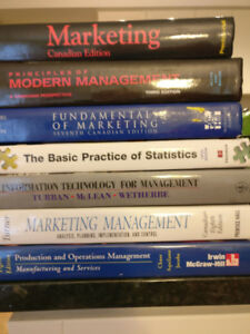 Used University Business Course Textbooks