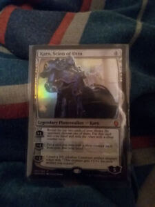KARN, SCION OF URZA (FOIL) Magic the gathering
