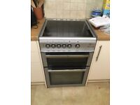 Flavel free standing ceramic cooker