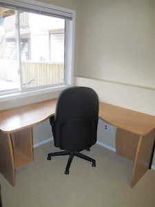 Office Corner Desk +  Chair
