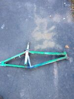 Gaint bmx frame,cranks and sprocket or forks 35$$