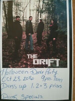 HALLOWEEN DANCE PARTY WITH THE DRIFT