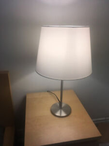 Set of 2 lamps (floor & table)