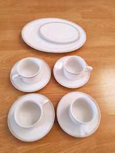 Brand new coffee cups and plates for sale