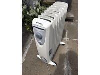 Dimplex oil-free Eco Column Heaters £45 each