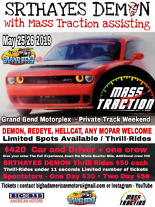 Private Track Rental with Mass Traction / Grand Bend  Motorplex