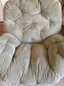 Cloth Recliner and Rocking Chair