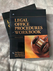 LEGAL OFFICE PROCEDURES Textbook for law clerks